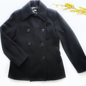 J. Crew Black Peacoat Womens Size Small